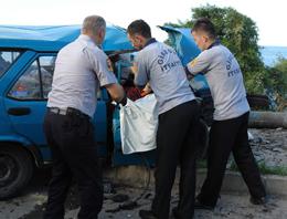 Giresun'da Kaza:1 Kişi Ölü 1 Kişi Yaralı