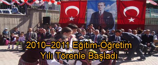 2010-1011 Eğitim-Öğretim Yılı Törenle Başladı