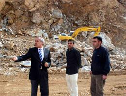 Suşehri Belediyesi taş çıkartıyor!