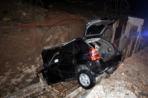 Çamoluk Kaymakamı Trafik Kazası Geçirdi