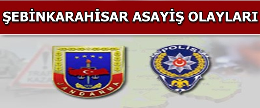Şebinkarahisar Asayiş Olayları(27 Ekim - 8 Kasım)