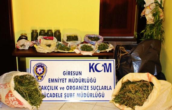 Ş.Karahisar'da Uyuşturucu Ele Geçirildi