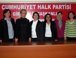 CHP Giresun Kadın Kolları yeni yönetim