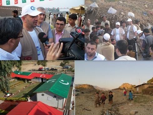 Giresun Federasyonu Pakistan'da gönülleri fethetti