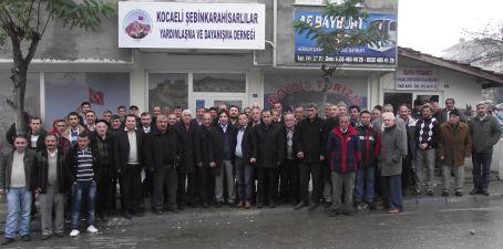 Kocaeli Şebinkarahisarlılar Derneği Başkanı Yılmaz Arslan Oldu