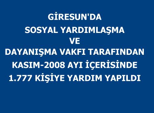 SYDV 203.936 YTL Yardım Yaptı
