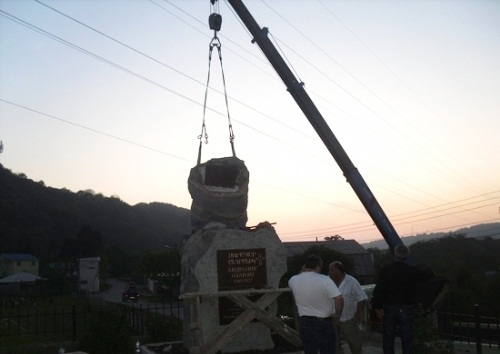 Rusya, Anadolu'daki Katliamda İmzası Bulunan Ozanyan'ın Anıtını Kaldırdı