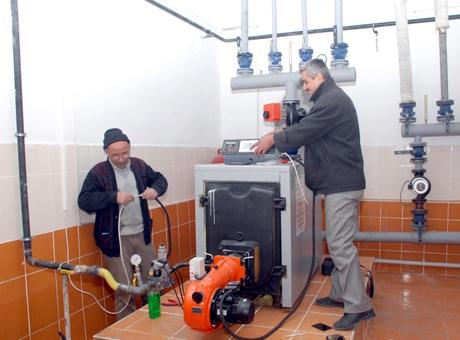 Suşehri'ndeki Okullar Doğal Gazlı Isıtma Sistemine Geçti