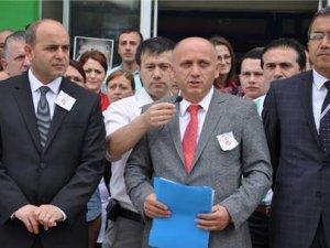 GİRESUN'DA DOKTORLAR'DAN BASIN AÇIKLAMASI