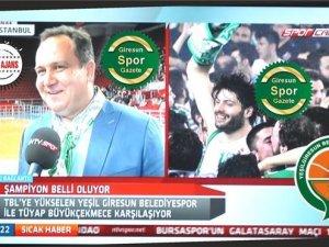 AKSU NTV SPOR'A KONUŞTU