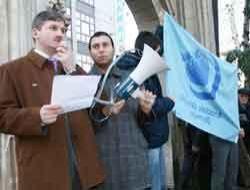AGD den İsraile kınama