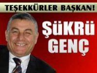 Giresunspor'dan Hemşehrimiz Şükrü Genç'e Teşekkür