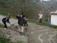 Giresun'da vatandaş kolları sıvadı