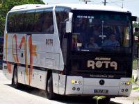 Rota Turizme Ait Otobüs Çalındı