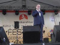 BAKAN ERDOĞAN BAYRAKTARIN ŞEBİNKARAHİSAR'DAKİ KONUŞMASI