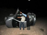 Şebinkarahisar - Suşehri Yol Ayrımında Trafik Kazası