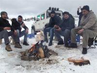 Giresunlu Maceracıların Yaylada Kış Keyfi