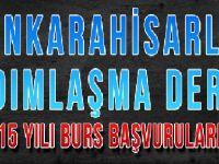 2014-2015 YILI BURS BAŞVURULARI BAŞLADI