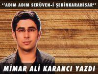 MİMAR ALİ KARANCI YAZDI ''ADIM ADIM SERÜVEN-İ ŞEBİNKARAHİSAR''